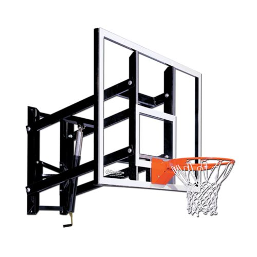 Goalsetter 60 in Wall Mounted Tempered-Glass Basketball Hoop - view number 1