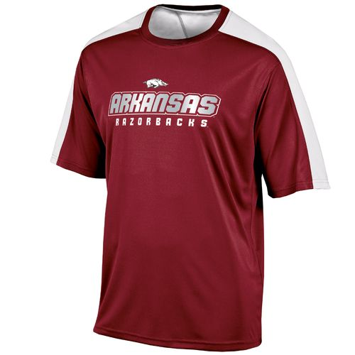 Champion™ Men's University of Arkansas Colorblock T-shirt