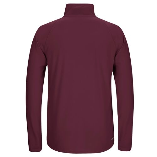 adidas Men's Mississippi State University Sideline Basic Logo 1/4 Zip Pullover - view number 2