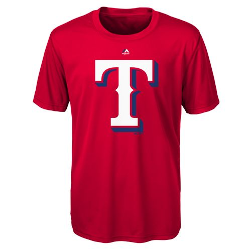 MLB Boys' Texas Rangers Primary Logo T-shirt