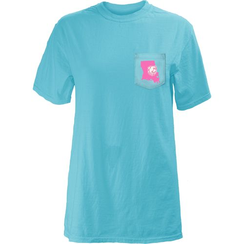 Three Squared Juniors' Louisiana Tech University Boho Arrow Pocketed T-shirt - view number 2