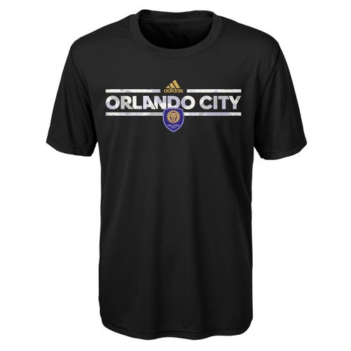 adidas Boys' Orlando City SC climalite Dassler Tactical T-shirt - view number 1