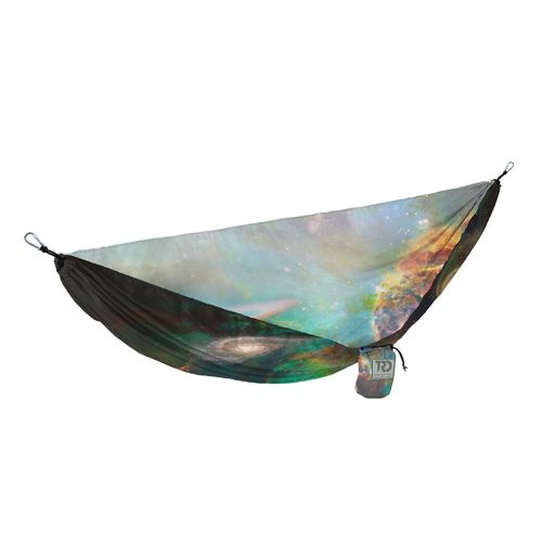 Twisted Root Design Galaxy Print Hammock