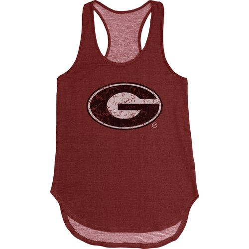 Blue 84 Women's University of Georgia Nala Premium Terry Tank Top - view number 1