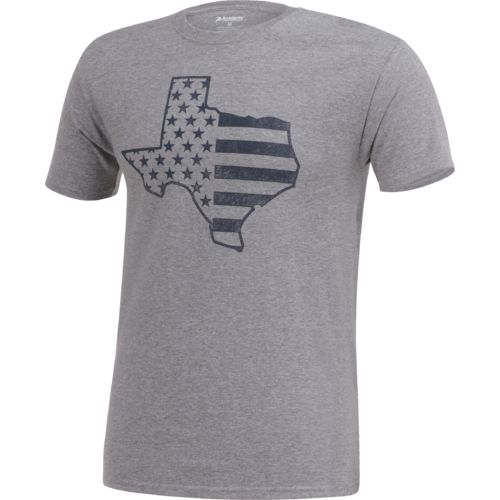 Academy Sports + Outdoors Men's Texas American Flag T-shirt - view number 3