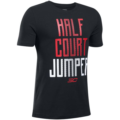 Under Armour Boys' SC30 Half Court Jumper Short Sleeve T-shirt - view number 1