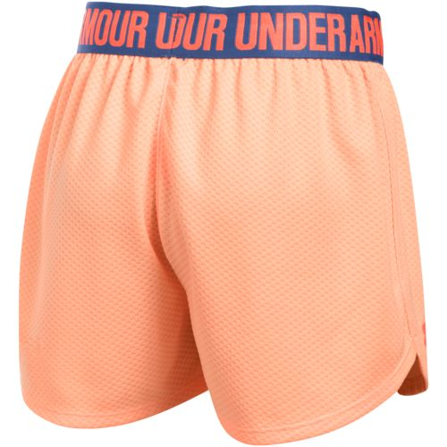 Under Armour Girls' Mesh Play Up Training Short - view number 2