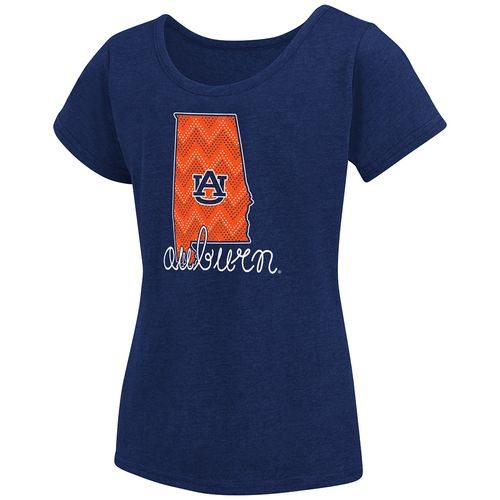 Colosseum Athletics™ Girls' Auburn University Tissue 2017 T-shirt