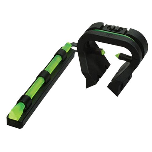 HIVIZ Shooting Systems TriViz Vent-Ribbed Shotgun Front and Rear Sight Set