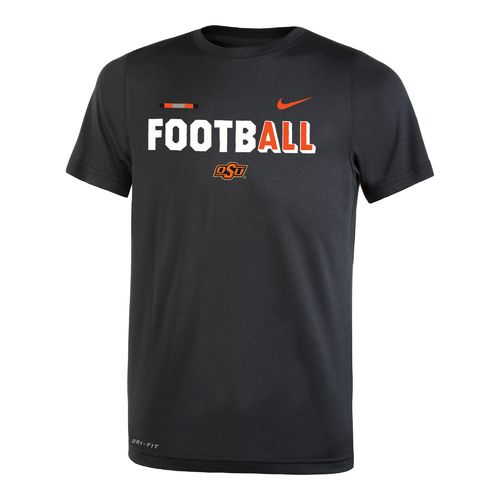 Nike™ Boys' Oklahoma State University Legend Football T-shirt