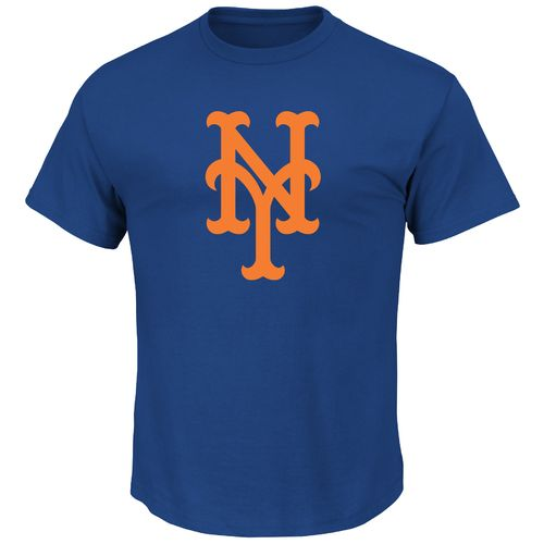 Majestic Men's New York Mets Scoring Position Short Sleeve T-shirt - view number 1