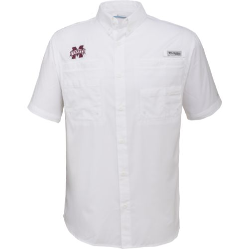 Columbia Sportswear Men's Mississippi State University Tamiami™ Button Down Shirt