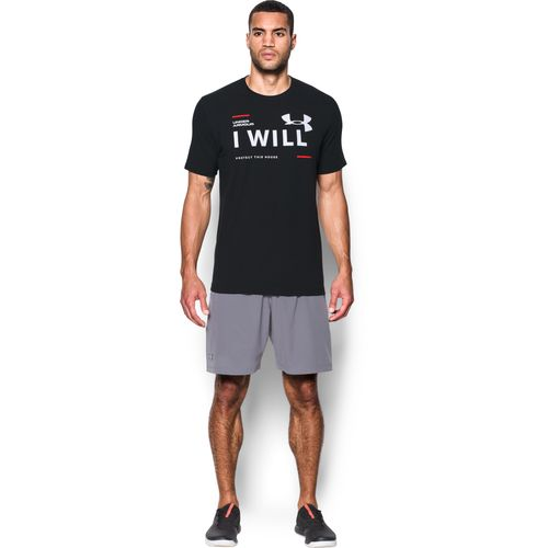 Under Armour Men's I Will Graphic Training T-shirt - view number 3