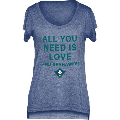 Chicka-d Women's University of North Carolina at Wilmington Scoop-Neck T-shirt