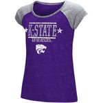 Colosseum Athletics Girls' Kansas State University Sprints T-shirt - view number 1