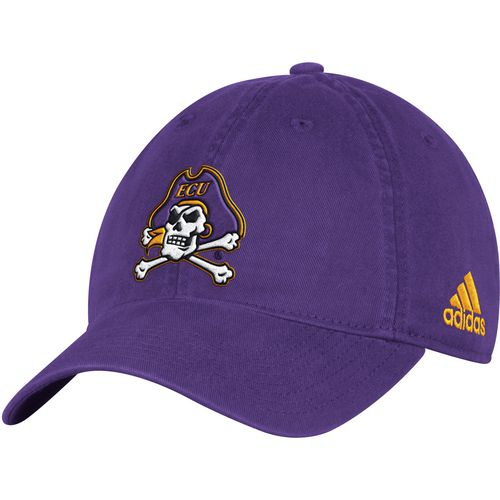 adidas Men's East Carolina University Big Logo Slouch Adjustable Cap - view number 1
