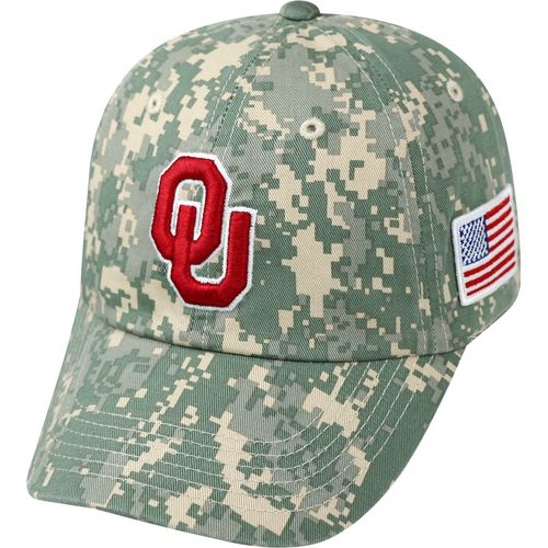 Top of the World Men's University of Oklahoma Flagship Digi Camo Cap