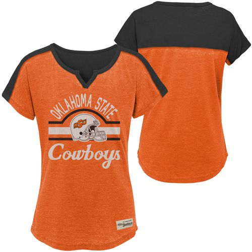 Gen2 Girls' Oklahoma State University Tribute Football T-shirt - view number 3