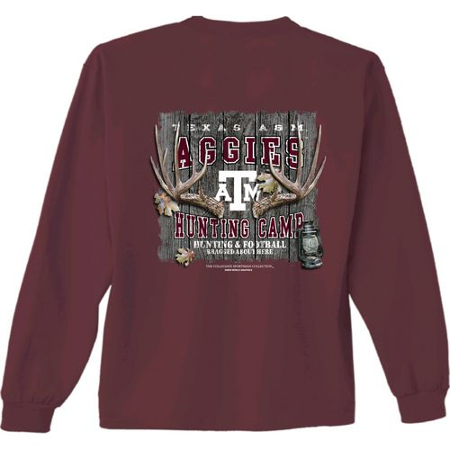 New World Graphics Men's Texas A&M University Hunt Long Sleeve T-shirt