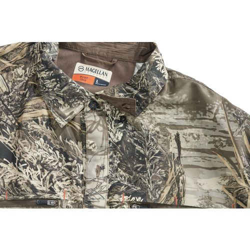 Magellan Outdoors Men's  Eagle Pass Deluxe  Long Sleeve Shirt - view number 5