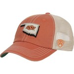 Top of the World Men's Oklahoma State University United 2-Tone Adjustable Cap - view number 2