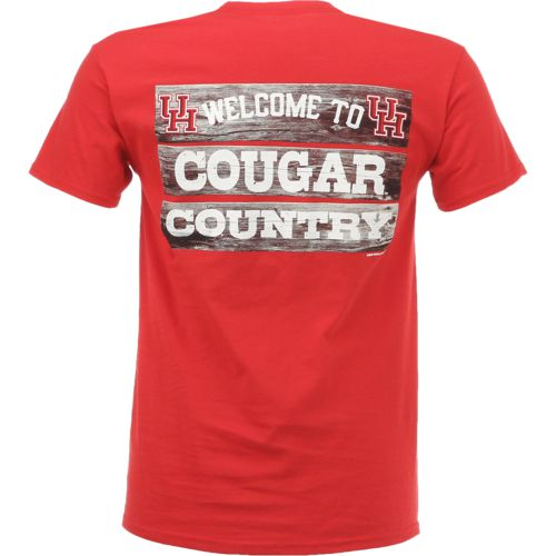 Display product reviews for New World Graphics Men's University of Houston Welcome Sign T-shirt