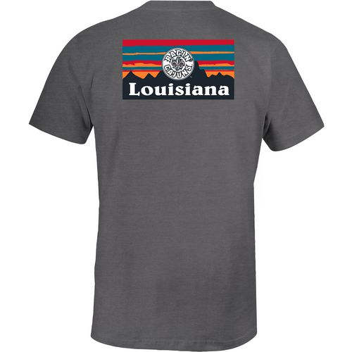 Image One Women's University of Louisiana at Lafayette Landscape Silhouette T-shirt