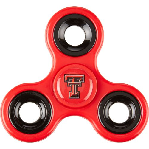 Forever Collectibles Texas Tech University 3-Way Diztracto Spinnerz Toy