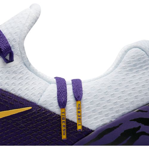 Nike Men's Louisiana State University Free Trainer V7 Week Zero Training Shoes - view number 7