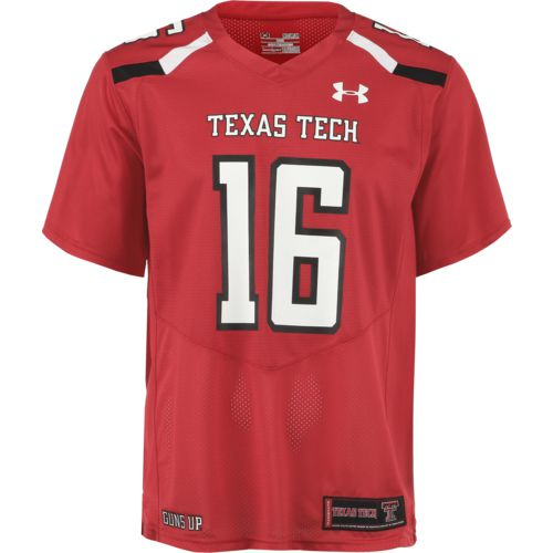 Under Armour Men's Texas Tech University Replica Home Football Jersey