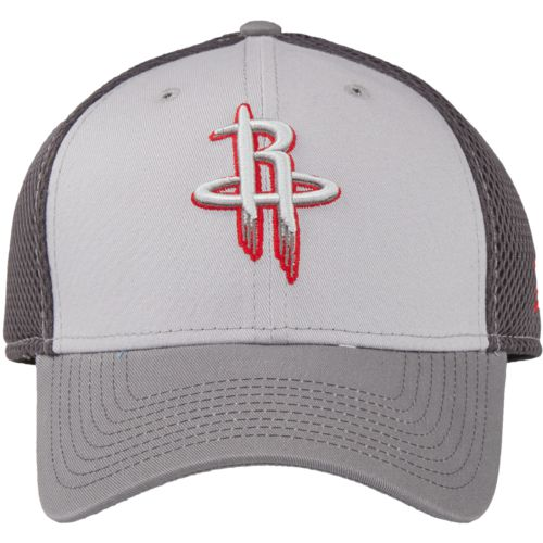 New Era Men's Houston Rockets Grayed Out 39THIRTY Neo Cap