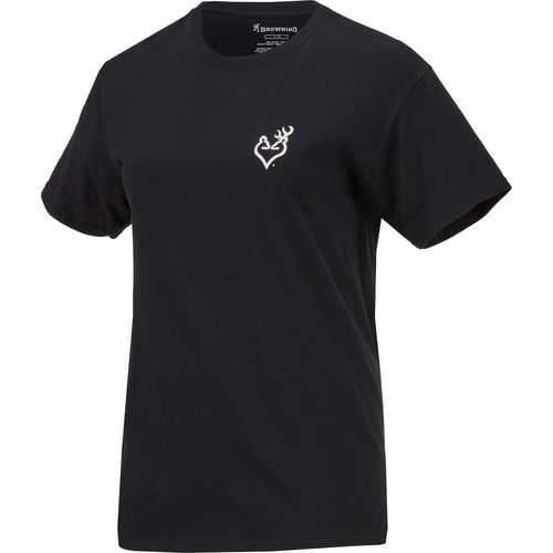 Browning Women's Gold Foil Flag T-shirt - view number 1