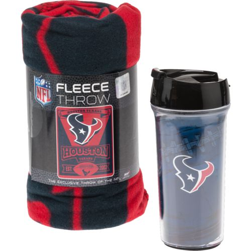 Display product reviews for NFL Houston Texans Mug and Snug Gift Set