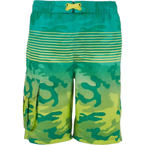 O'Rageous Boys' Gradient Camo Printed Boardshorts - view number 3