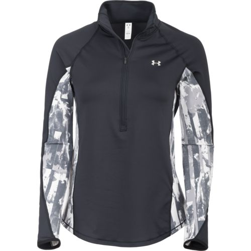 Display product reviews for Under Armour Women's ColdGear Armour 1/2 Zip Printed Performance Top