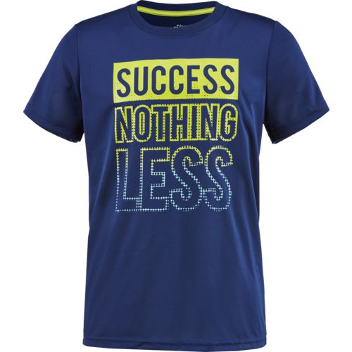 BCG Boys' Success Nothing Less Short Sleeve T-shirt