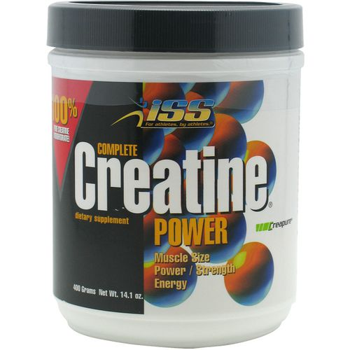 ISS Research Complete Creatine Powder Dietary Supplement