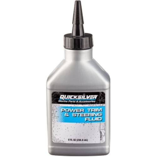 Quicksilver 8 oz Power Trim and Steering Fluid