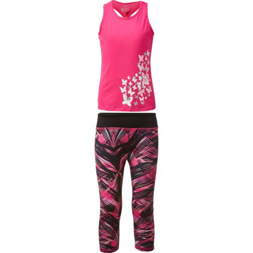 Display product reviews for Cheetah Toddler Girls' Twister Tank Top and Capri Pants Set