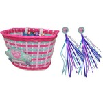 Raskullz Girls' Hearty Gem Bicycle Basket and Streamers - view number 2