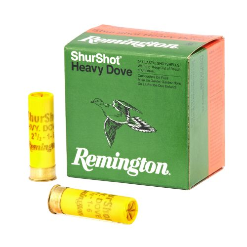 Display product reviews for Remington ShurShot Heavy Dove 20 Gauge Shotshells