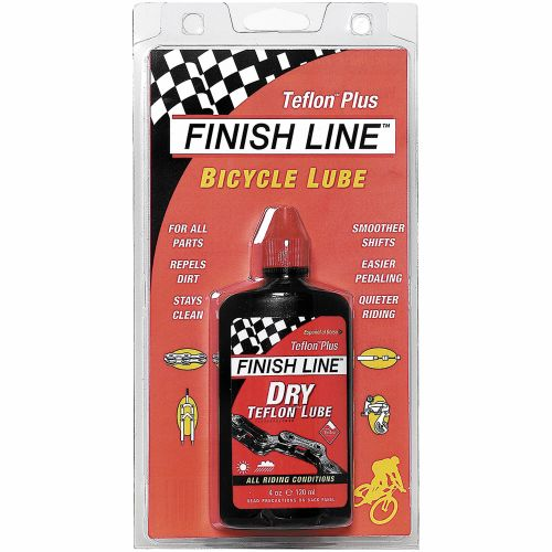 Finish Line 4 oz. DRY Teflon Bicycle Chain Lube - view number 1