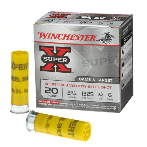 Display product reviews for Winchester Xpert Steel Upland Game and Target Load 20 Gauge Shotshells
