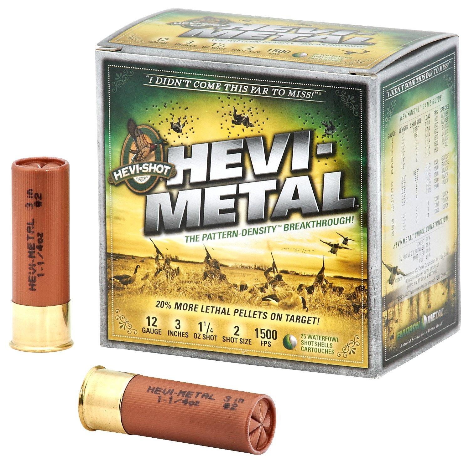 Display product reviews for HEVI-Metal™ 12 Gauge Shotshells