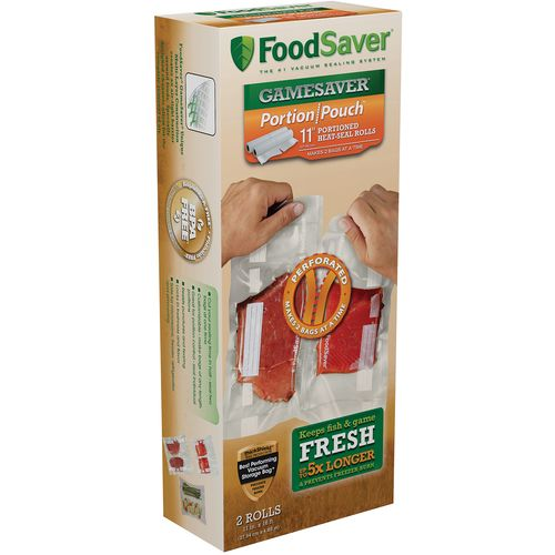 "FoodSaver Game Saver 11"" Packaging Bag Rolls"