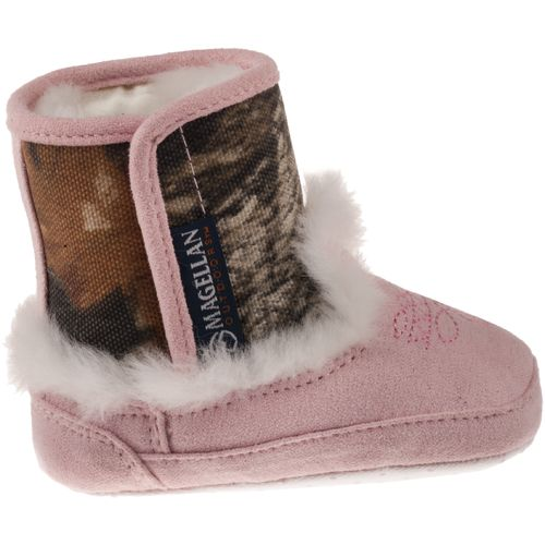 Image for Magellan Outdoors™ Infant Girls' Camo Bootie Slippers from Academy