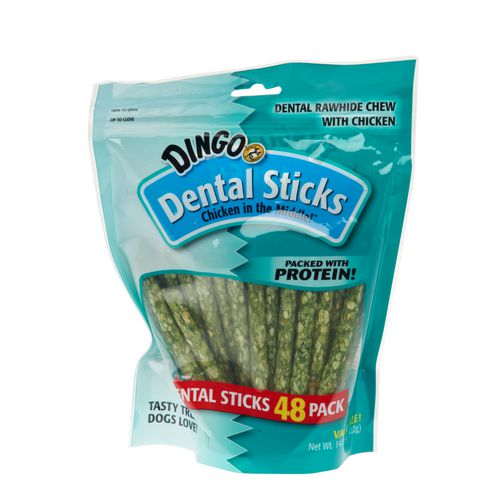 Display product reviews for Dingo Dental Sticks 48-Pack
