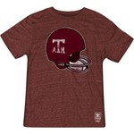 adidas Men's Texas A&M University Big Retro Helmet T-shirt