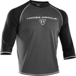 Under Armour® Men's 3/4 Sleeve Baseball Shirt