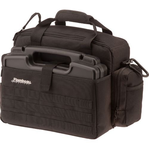 Flambeau Tactical Range Bag with Pistol Case